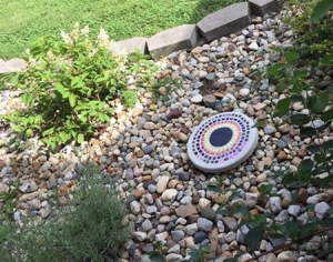 A new addition to our memorial garden! Mary Johnson, the niece of retired library trustee Marilyn Butler, donated this in honor of her aunt Marilyn.