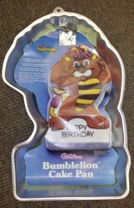 Bumblelion Cake Pan