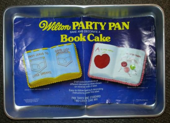 Book Cake (One Mix)