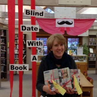 Blind Date with a Book advert Beth