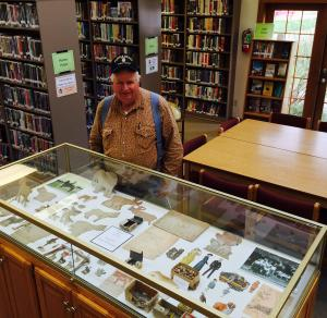 Stop in the Heyworth Library and view the prized toys of John Sledge's father when he was an eleven year old boy. An amazing collection of creativity and imagination. Do you have a family treasure to share? Or a collection we could showcase? Let us know - 473-2313.