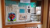 8th grade HJHS Artwork - Feb. 2018